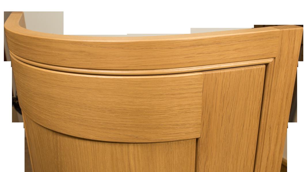 Curved Door, Bespoke Kitchen Cabinet Door, Curved Kitchen Door, Kitchen Door