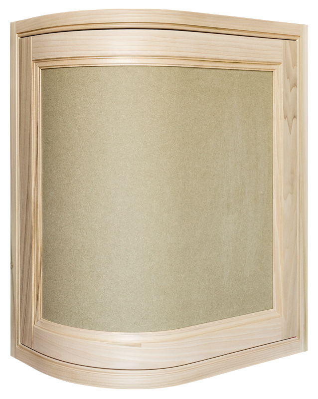 Door Convex Oak, Curved Door, Curved Kitchen Door, Curved Cabinet Door, Convex Door, Radius Door, Curved In-frame Door