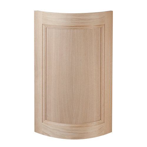 Door Convex Oak, Curved Door, Curved Kitchen Door, Curved Cabinet Door, Convex Door, Radius Door