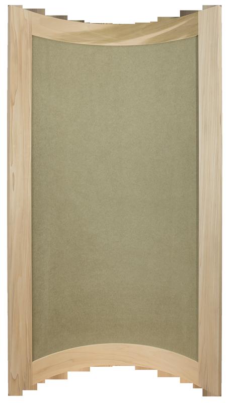 Curved Door, Convex Kitchen Door, Bespoke Kitchen Door, Curved Door