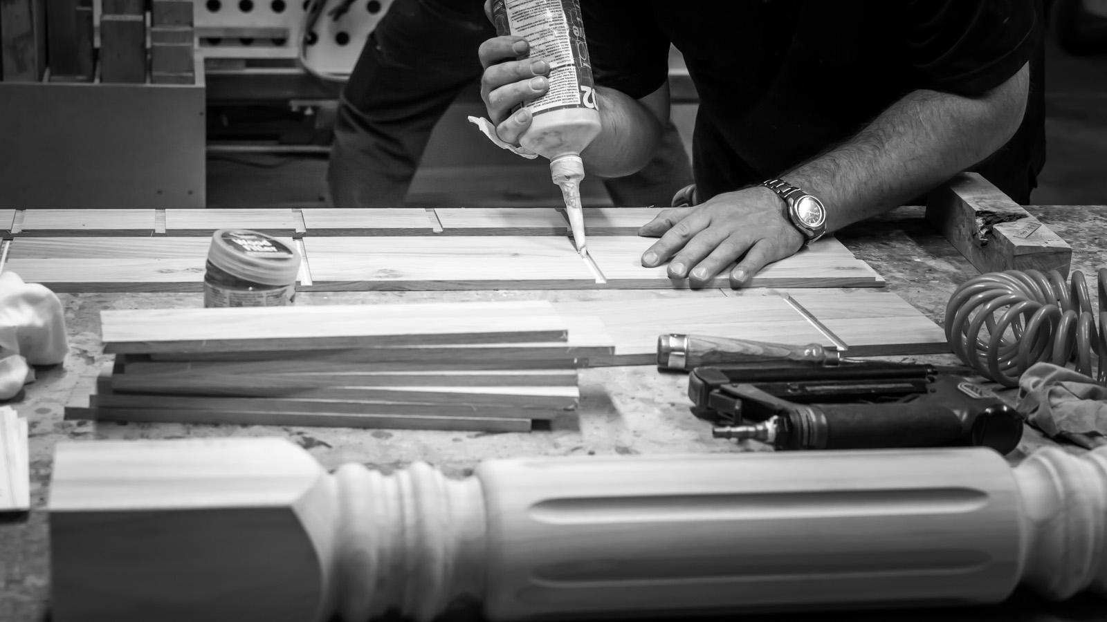Wood parts, Craftsmanship, Workshop