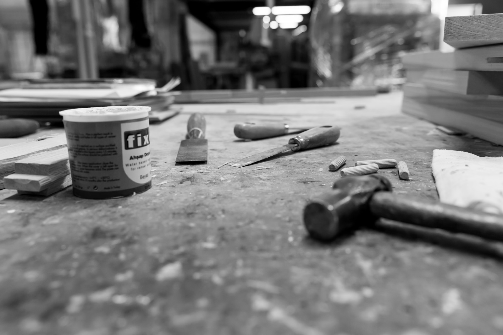 Workshop, Carpentry, Carpentry workshop