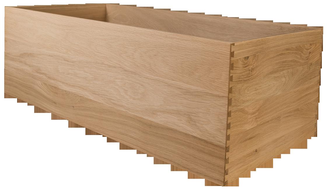 Oak Dovetailed Drawer, Dovetailed Drawer, Dovetail, Oak Drawer Box