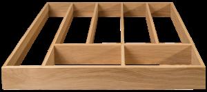 Oak Drawer Insert, Cutlery, Wooden Drawer Insert, Drawer Box Organiser, Drawer insert organiser