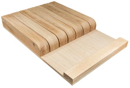 Oak Drawer Insert, Wooden Knife Block, Knife Block, Wooden Drawer Insert, Drawer Box Organiser, Drawer insert organiser
