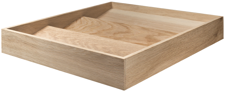 Oak Spice Jar Drawer Insert