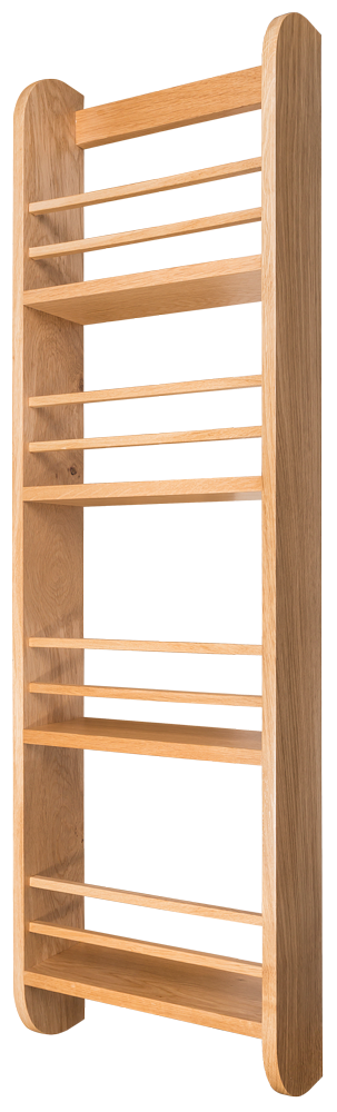 Oak Spice Rack, Door Mounted Spice Rack, Spice Rack