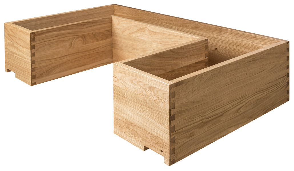 Oak Dovetailed Drawer, Dovetailed Drawer, Speciality Drawer Box, Oak Drawer Box