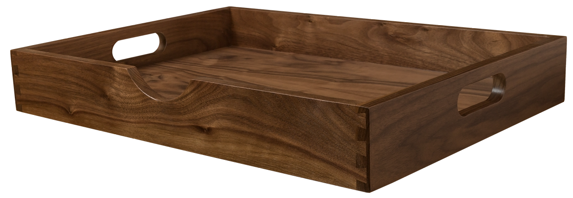 Walnut Dovetailed Drawer, Dovetailed Tray, Speciality Drawer Box, Oak Drawer Tray