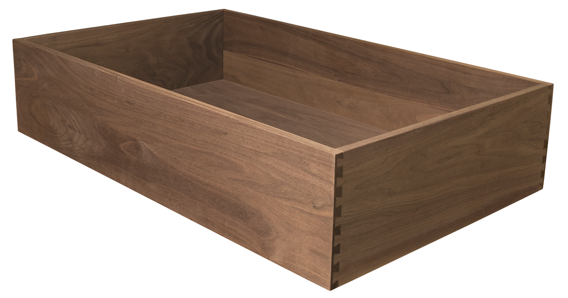 Walnut Dovetailed Drawer, Dovetailed Drawer, Dovetail, Walnut Drawer, Walnut Drawer Box