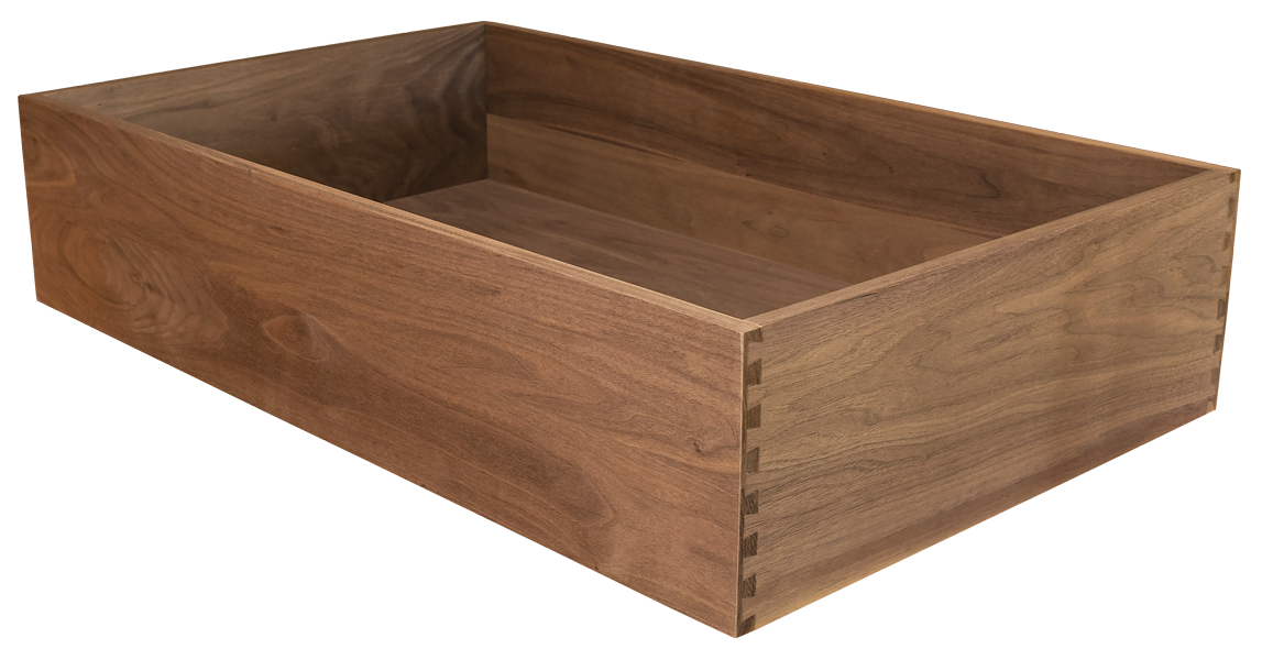 Walnut Dovetailed Drawer, Dovetailed Drawer, Dovetail, Walnut Drawer, Walnut Drawer Box
