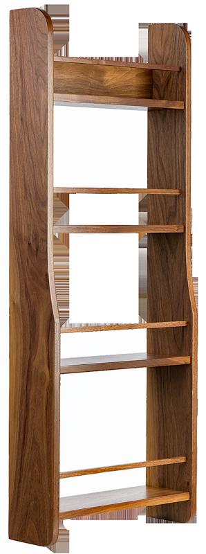 Walnut Spice Rack, Spice Rack, Door Mounted Spice Rack, Kitchen storage